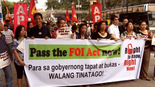 FOI-march-Philippines